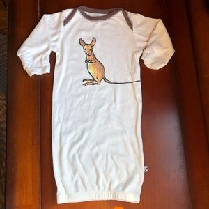 TWO Baby Soy baby gowns